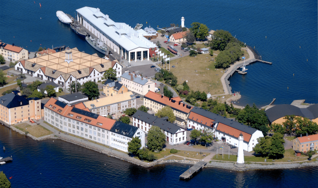 Karlskrona Stumholmen by Air